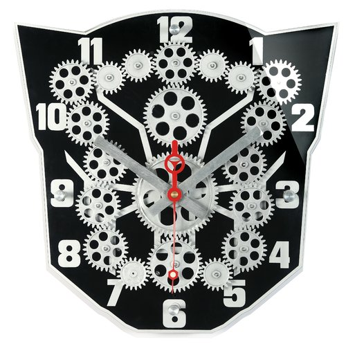 Maples Clock Moving Gear Wall Clock by Maples Sales Inc