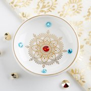 Kate Aspen Indian Jewel Trinket Dish Bowl (Set of 12) | Perfect Party Favor or Guest Gift for Birthdays, Bridal Showers, Baby Showers, Indian Weddings or Diwali