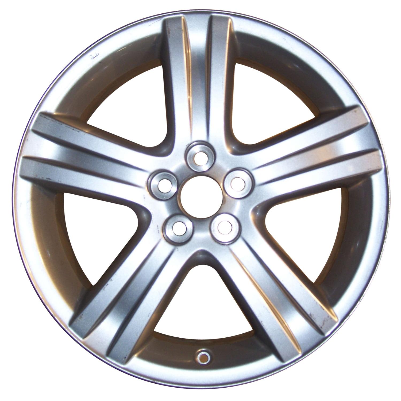 2009-2013 Toyota Corolla  17x7 Aluminum Alloy Wheel, Rim Medium Silver Sparkle Full Face Painted-69541