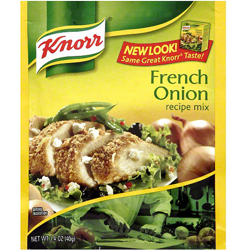 Knorr French Onion Recipe Mix Soup, 1.4 oz (Pack of 12)