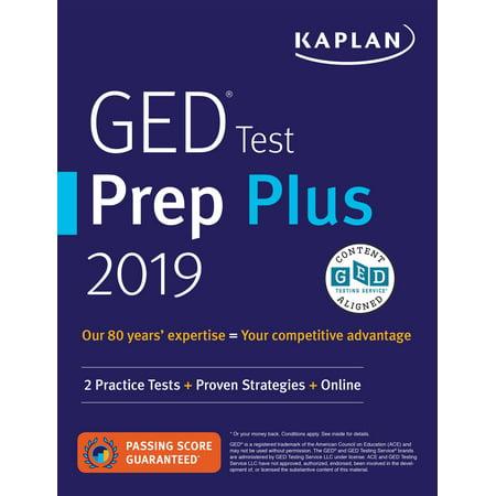 GED Test Prep Plus 2019 : 2 Practice Tests + Proven Strategies + Online - Halloweentown Online