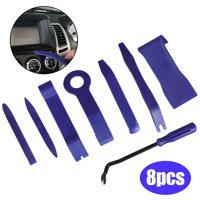 8-pack Car Panel Removal Open Pry Tool Kit, Dash Door Radio Trim Pump Wedge Auto Trim Upholstery Removal Kit for Door Trim Molding Dash Panel