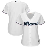 Product Image Miami Marlins Majestic Women s Home 2019 Official Cool Base  Team Jersey - White 65e546ba3