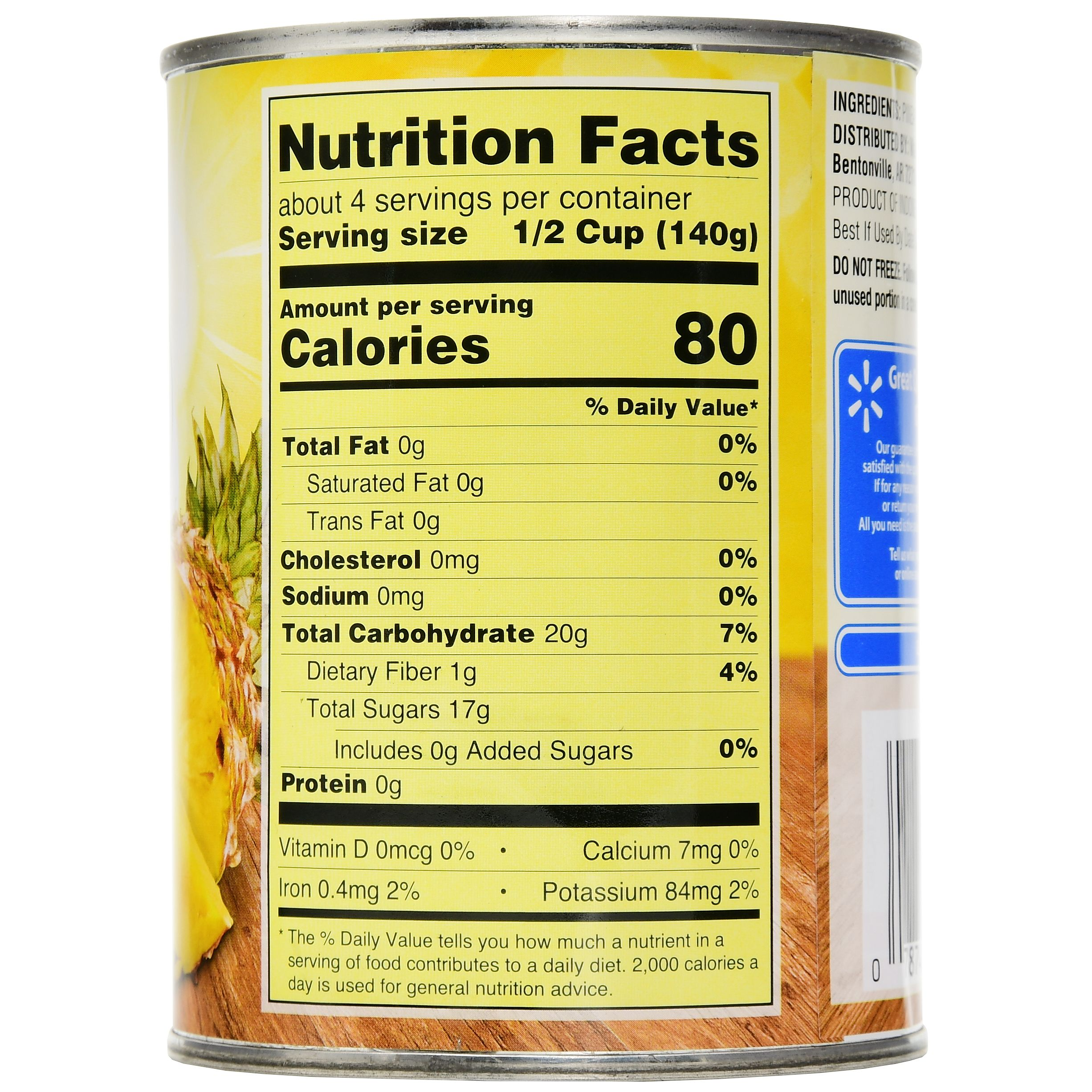 Mediterranean Kitchen Kirkland: Dole Frozen Pineapple Chunks Nutrition Facts