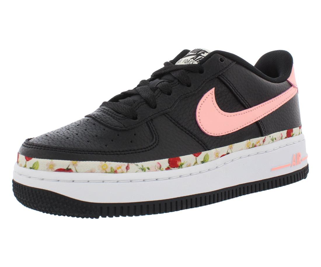 Nike - Nike Air Force 1 Vintage Floral Girls Shoes - Walmart.com ...