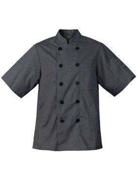 Chef Code Lightweight Ultra Soft Short Sleeve Chef Coat