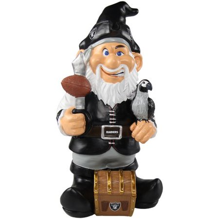 - Forever Collectibles NFL Caricature Garden Gnome, Oakland Raiders