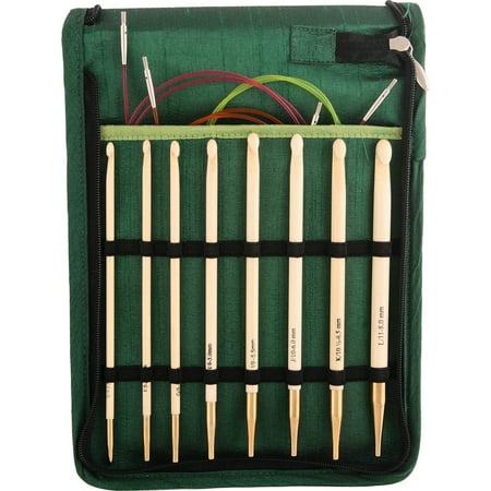 Bamboo Interchangeable Tunisian Crochet Hook (Bamboo Crochet Hook Set)
