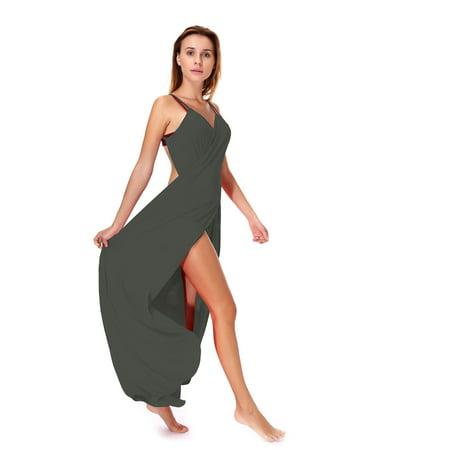 ef75579a27 Lelinta - LELINTA Womens Cover-ups Fashion Bikini Cover Up Beach Long Dress  Womens Bathing Suit Cover Up Swimsuit Wrap Beachwear Plus Size L/5XL - ...