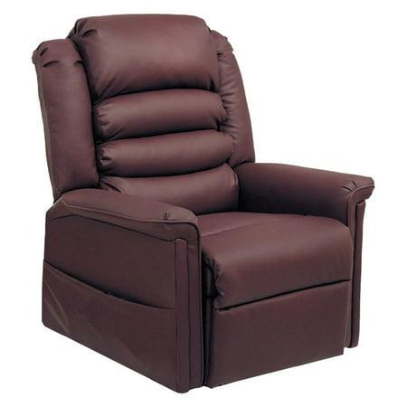 catnapper invincible faux leather power lift recliner