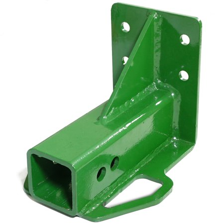 Industrial Trailer - Rear Trailer Hitch Receiver fits John Deere Gator 4x2 6x4 Old Style BoltOn Green