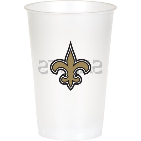 New Orleans Saints Cups, 8-Pack - New Orleans Saints Halloween Decorations