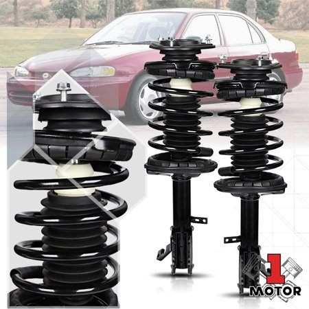 Front L+R Strut Assembly Shock Absorber w/Coil Spring for 93-02 Corolla/Prizm 94 95 96 97 98 99 00 01