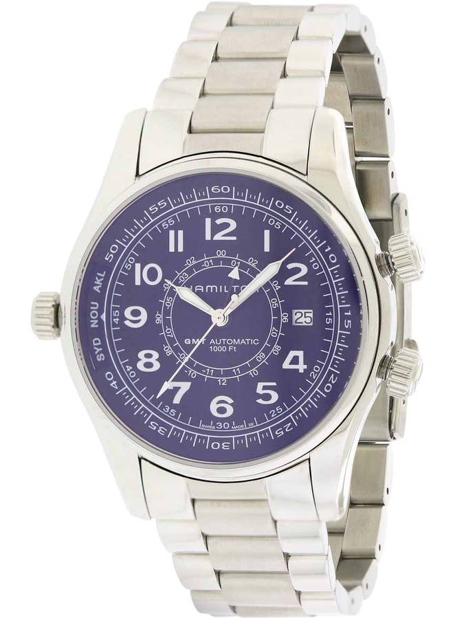 Hamilton Khaki Navy UTC Automatic Chronograph Stainless Steel Men's Watch, H77505133 by Hamilton