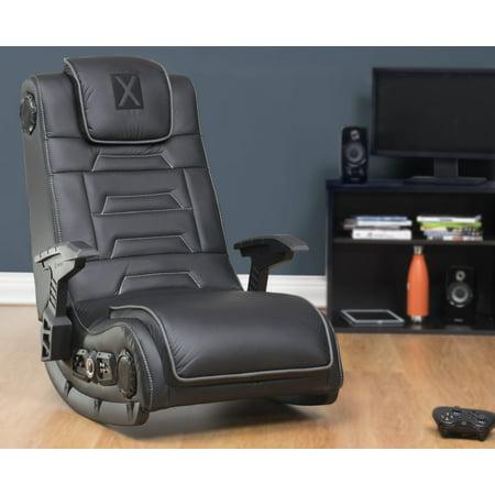 X Video Rocker Pro Series H3 4.1 Wireless Audio Gaming Chair, Black, 51259