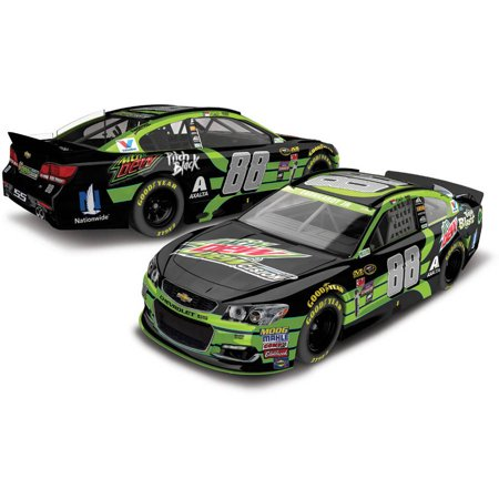 Dale Earnhardt, Jr. #88 Mountain Dew 2016 Chevrolet SS NASCAR Die-Cast Car, 1:64 Scale HT produced by Lionel Racing