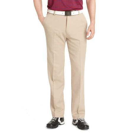 IZOD Mens 34X32 Classif Fit Flat-Front Golf Pants