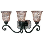 Pearl River 3-Light Vanity in Oil Rubbed Bronze Finish