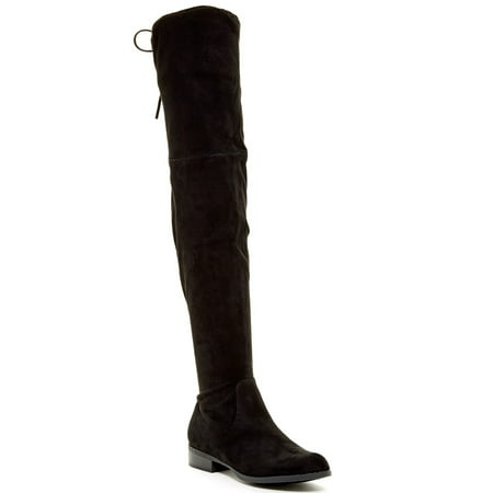 Carrini CA Collection Women's Fashion Soft Faux Suede Over the Knee Boots