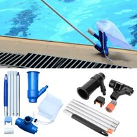 Pool Vacuum Cleaner Swimming Pool Vacuum Jet 5 Pole Sections Suction Tip Connector Inlet Portable Cleaning Tool
