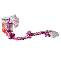 Flossy Chews Colored 4 Knot Tug Rope Large (22 Long)