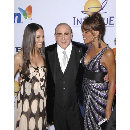 Alicia Keys  Clive Davis  Whitney Houston At Arrivals For Pre-Grammy Party For Clive Davis  Beverly Hilton Hotel  -