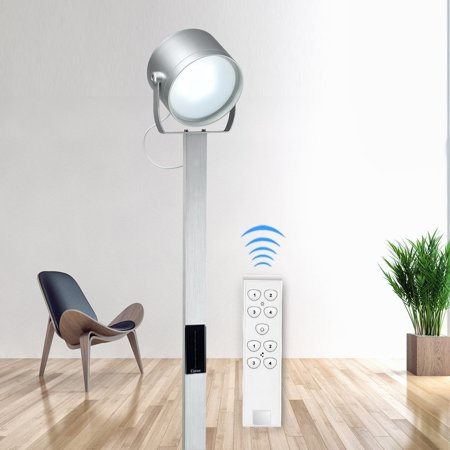 Ktaxon LED Floor Lamp, 9W Dimmable Torchiere Lamp with Remote ...