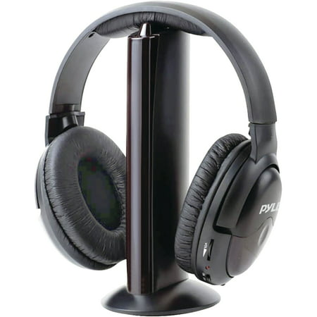 - Pyle Pro PHPW5 Professional 5-in-1 Wireless Headphone System with Microphone