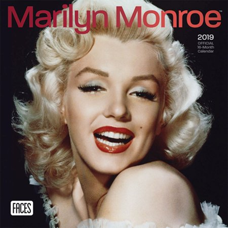 2019 Marilyn Monroe Mini Wall Calendar, by BrownTrout