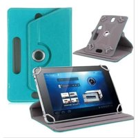 10.1 inch Tablet Case, Universal PU Leather Flip Stand Case Cover with Magnetic Closure for 10.1 inch Tablet - Light Blue