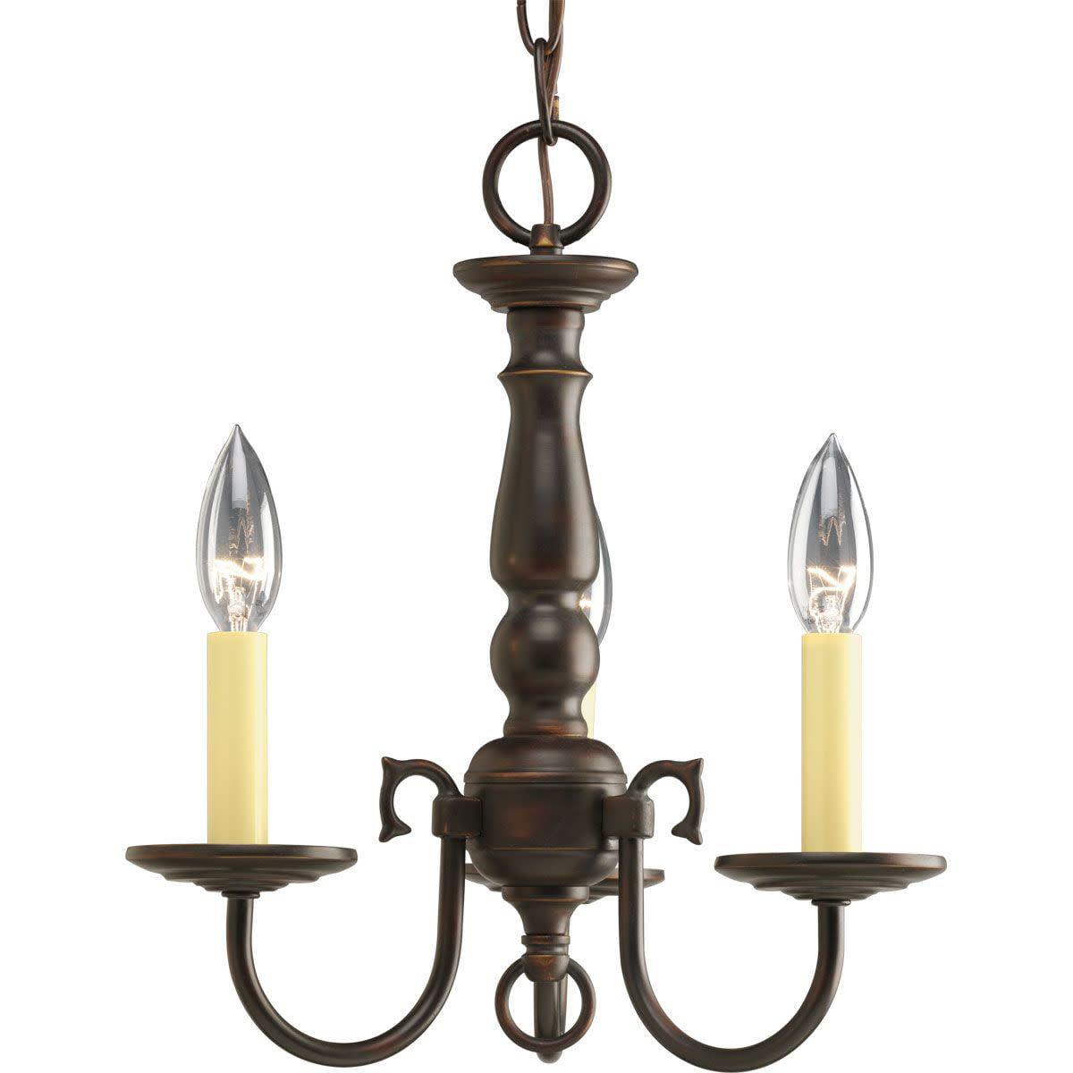 Americana Collection Three-Light Chandelier