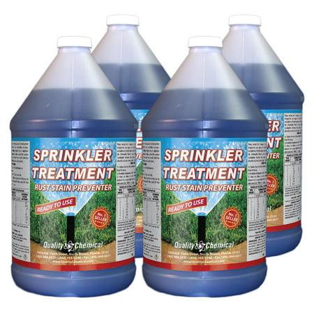 Sprinkler Treatment Rust Stain Preventor - 4 gallon