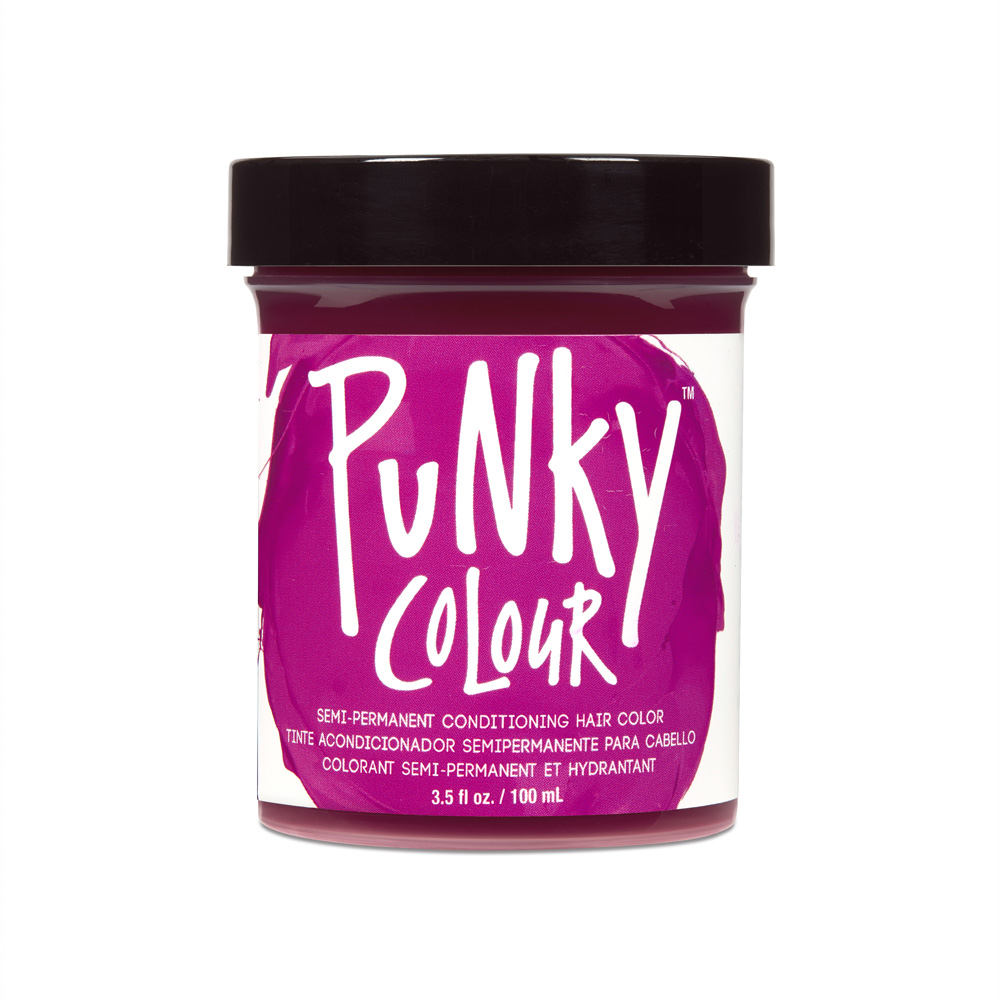 JEROME RUSSELL Punky Color Semi-Permanent Conditioning Hair Color - Rose Red
