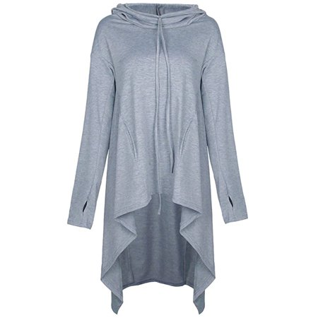 b2082025 Newstar Hoodies Sweatshirt for Womens, Long Sleeve Pullover Hoodies Tops  with Pocket for Women, N0218GR4XL Outwear Hooded Blouse Jumper Coat for ...