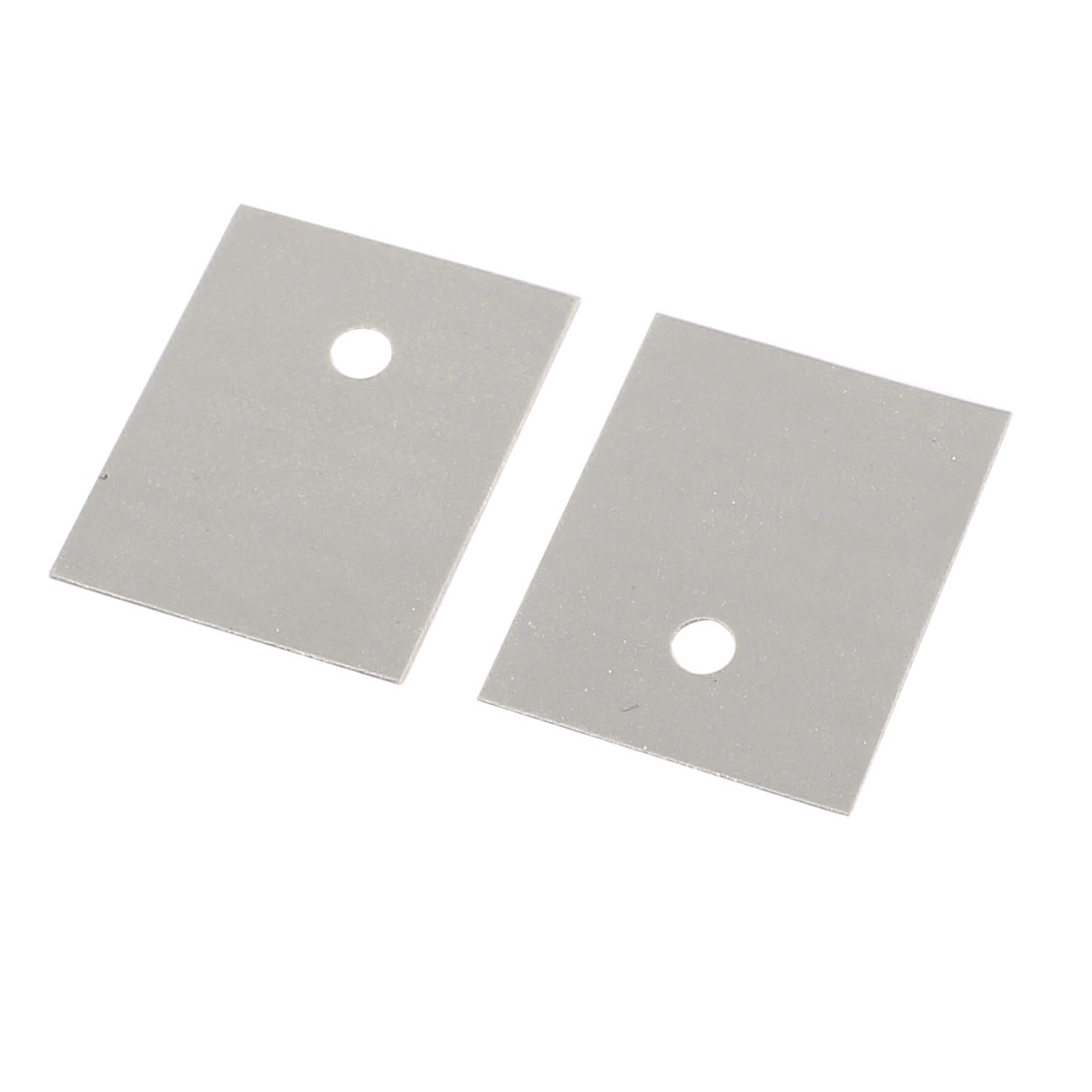 150 Pcs 25mm x 20mm x 0.3mm Silicone Thermal Insulation Pad Sheet - image 1 of 2