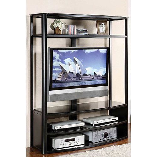 Venetian Faron Black TV/Entertainment Center for TVs up to 60""
