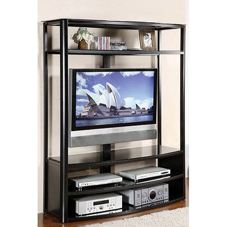 Venetian Faron Black TV/Entertainment Center for TVs up to 60″