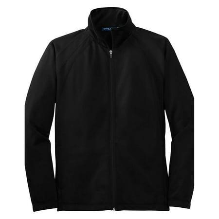 - Sport-Tek Men's Comfortable Tricot Track Athletic Jacket