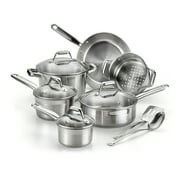 T-Fal Expert Pro 12-Piece Cookware Set, Stainless Steel