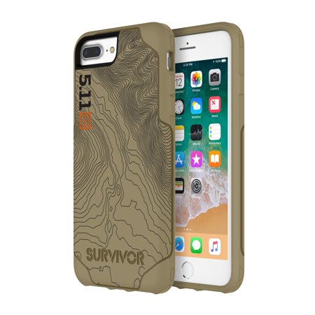- 5.11 Tactical Survivor Strong Case for iPhone 7 Plus - Coyote Tan