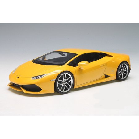lamborghini huracan lp610 4 yellow 1 18 diecast car model by kyosho. Black Bedroom Furniture Sets. Home Design Ideas