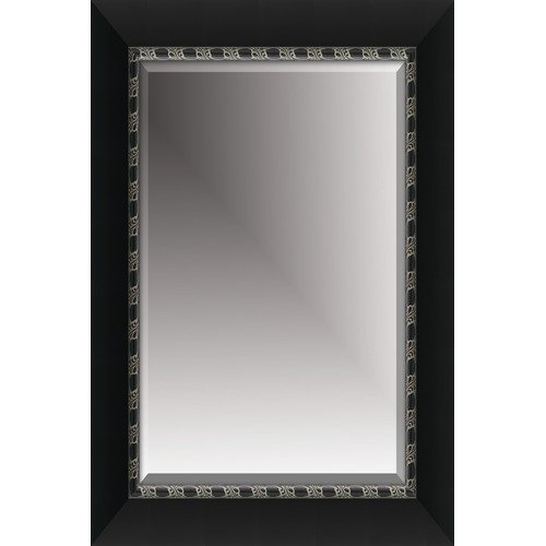 Michael Payne 46'' Beveled Mirror in Black