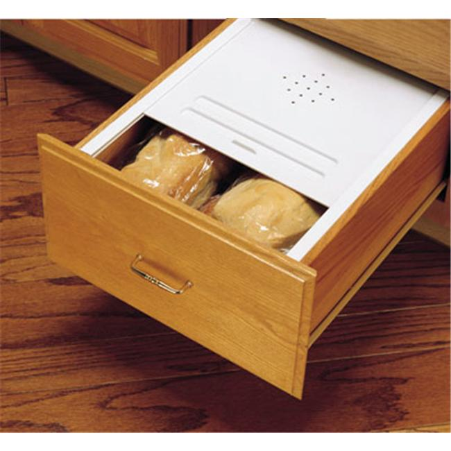 Rev-A-Shelf RSBDC24.11 20.13 in. Bread Drawer Covers-White