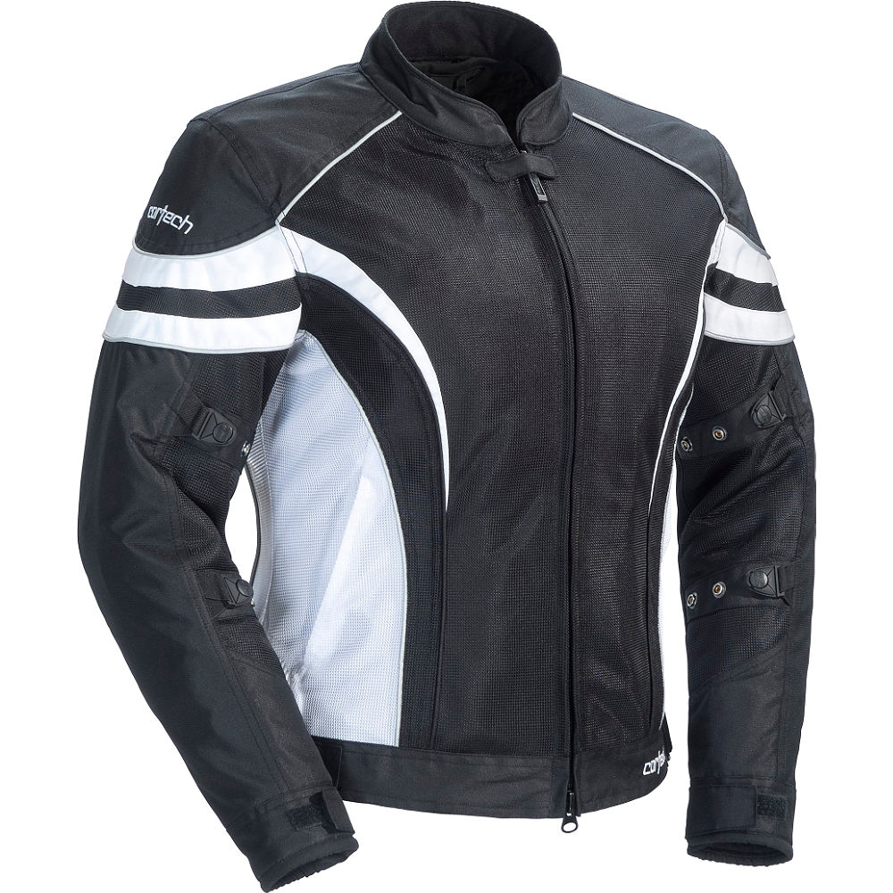 Cortech LRX Air 2 Womens Textile Jacket Black/White XS