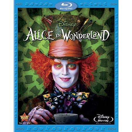 Alice In Wonderland (2010/ Directed by Tim Burton/ - Tim Burton Halloween Movie