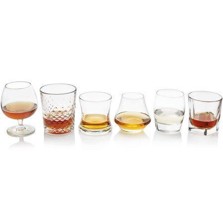 Libbey Craft Spirits Assorted Drinkware Glasses, Set of 6](Bar Ware)