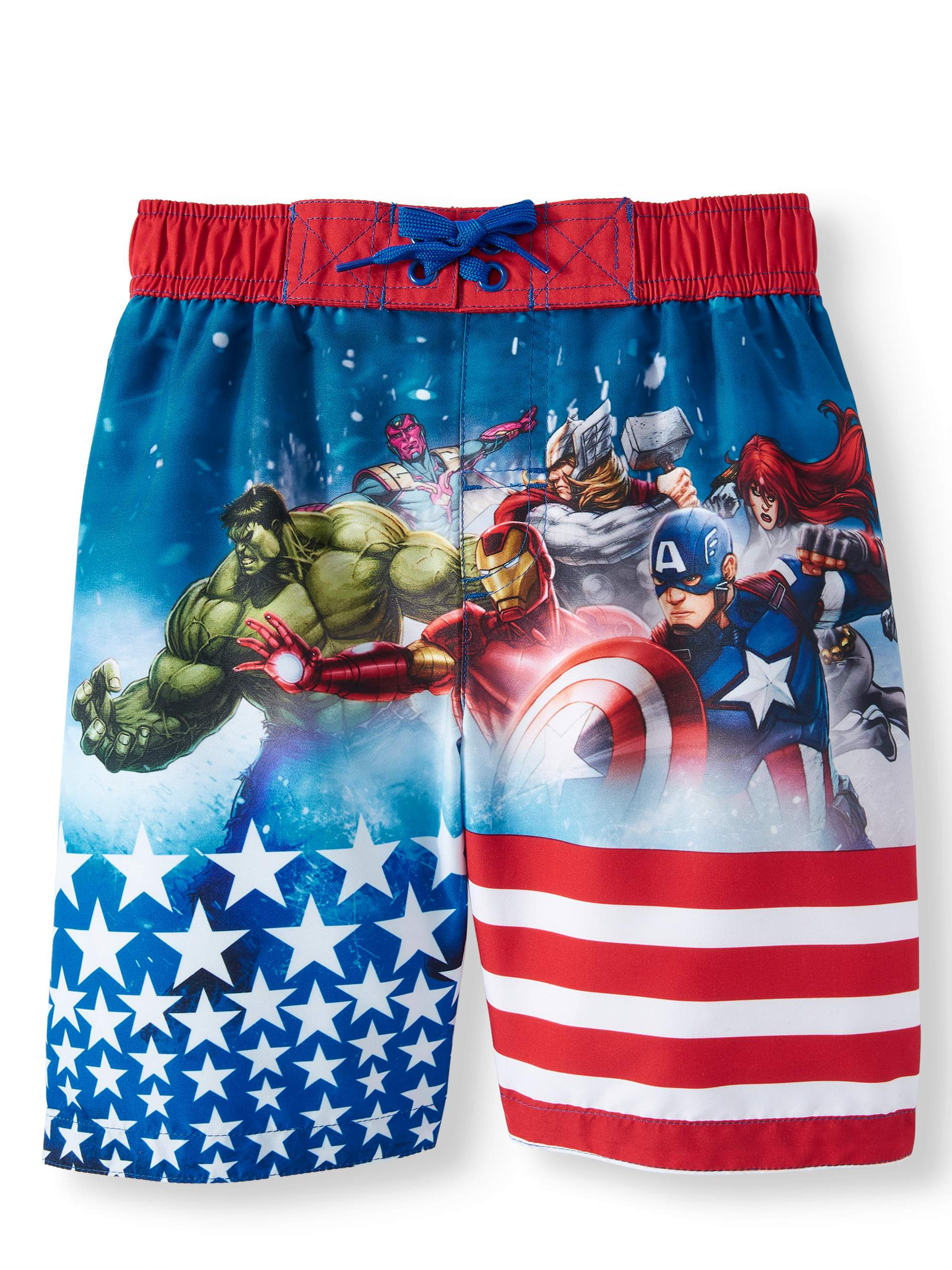 Americana Avengers Swim (Little Boys)