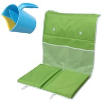 Best Baby Bath Kneeling Pad With 2 Extra Foam Kneeling Pads To Support Your Bo..