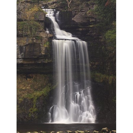 Thornton Force, Ingleton Waterfalls Walk, Yorkshire Dales National Park, Yorkshire, England Print Wall Art By Neale Clarke