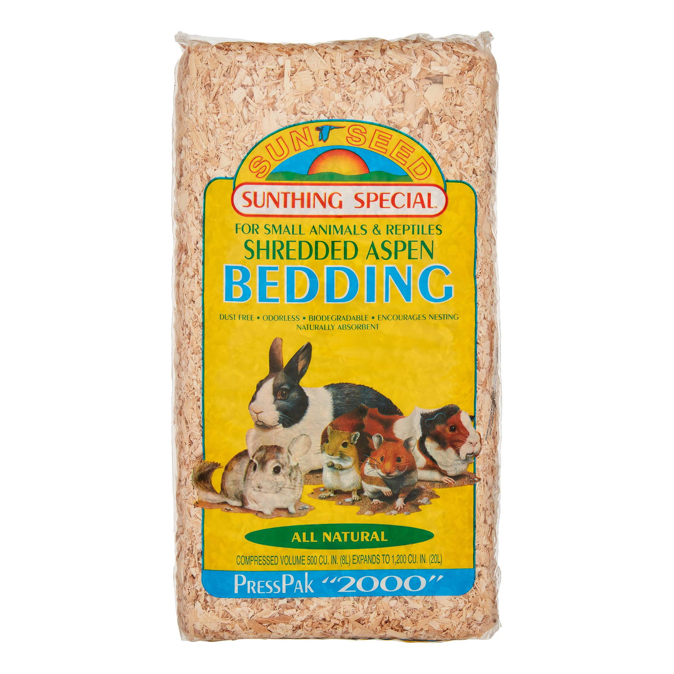 Sunseed Aspen PressPak Small Animal Bedding, 20 Cu In